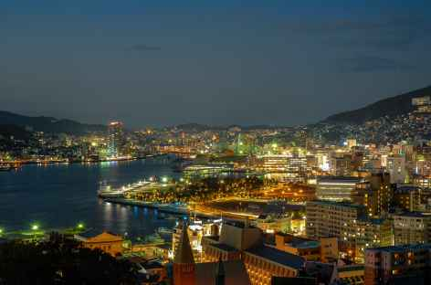 Nagasaki by night - Japon -