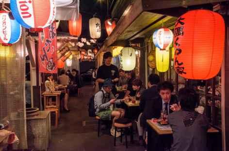 Petits restaurants de rue de Kagoshima - Japon -