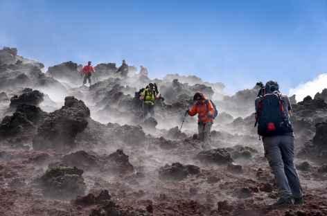 Descente du volcan Ohachi - Japon -