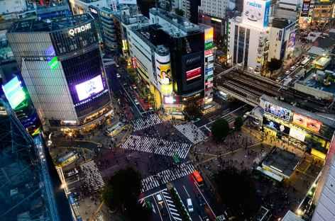 Shibuya Crossing, Tokyo - Japon -