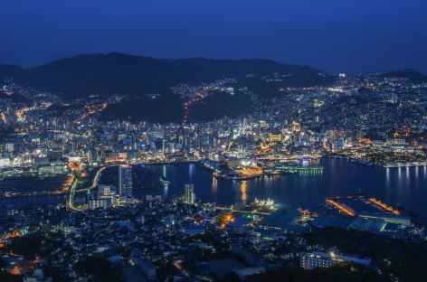 Belvédère sur la ville de Nagasaki depuis le Mt Inasa - Japon -