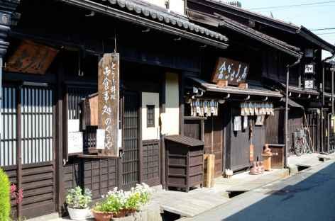Vieilles maisons en bois de Takayama - Japon -