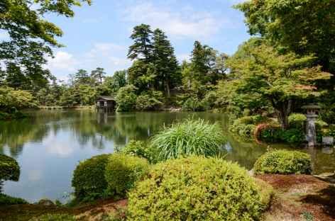 Jardin Kenroku-en à Kanazawa, l'un des trois plus beaux du Japon -