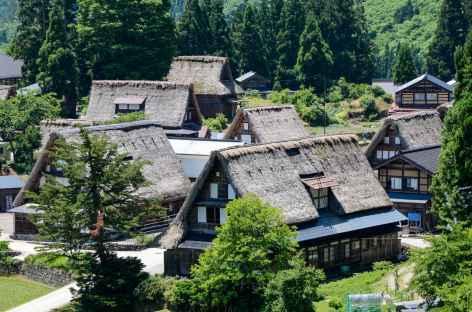 Village traditionnel d'Ainokura, Alpes Japonaises - Japon -