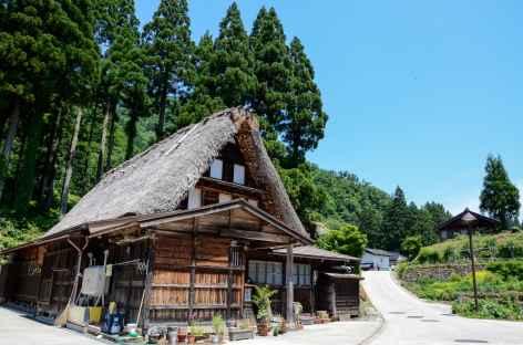 Maison traditionnelle au village d'Ainokura - Japon -