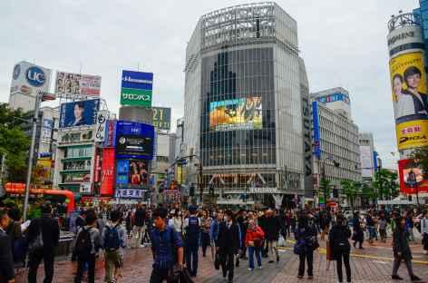 Quartier de Shibuya , Tokyo - Japon -