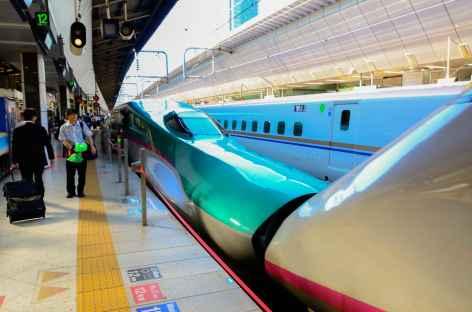 Shinkansen, le train rapide au Japon -