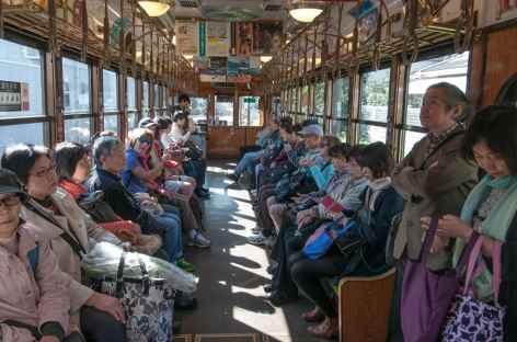 Dans le train pour Kyoto - Japon -