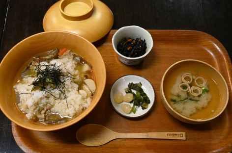 Mets médiévaux à Hikimi - Japon -