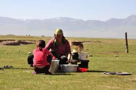 Vie nomade en Kirghizie -