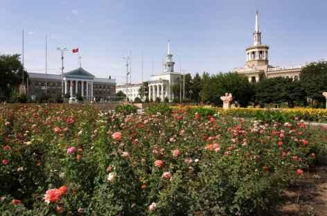 Bishkek et ses grands jardins - Kirghizie -