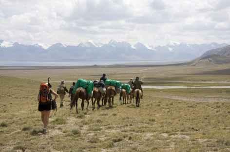 Arrivée au Lac Song Kul - Kirghizie -