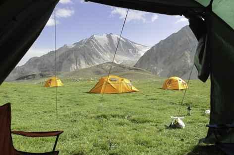 Sous la tente - Kirghizie -