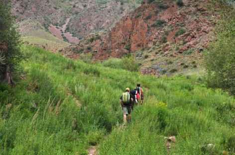 Randonnée à Jety Ogouz - Kirghizie -