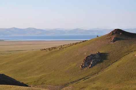 Balade au-dessus du lac Song Kul - Kirghizie -