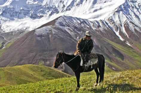 Cavalier nomade - Kirghizie -