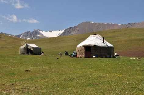 Yourte - Kirghizie -