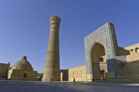 Architecture titanesque à Boukhara - Ouzbékistan -
