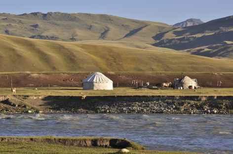 Yourte Kirghize, Pamir Alaï - Kirghizie -
