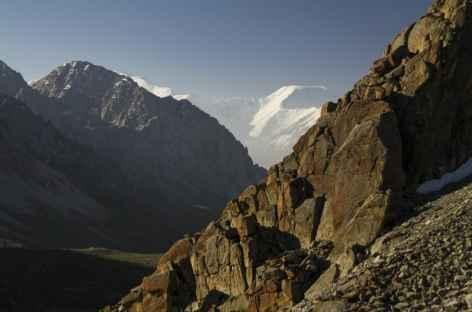 Pamir au lever du soleil - Kirghizie -