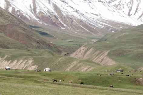 Vers Kata Bechik - Kirghizie  -