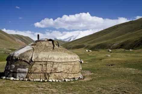 Yourte Kirghise - Kirghizie -