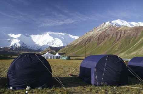 Depuis le camp camp de base- Kirghisie -