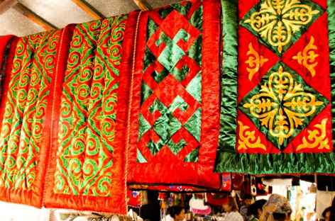 Bazar de Osh - Kirghizie -
