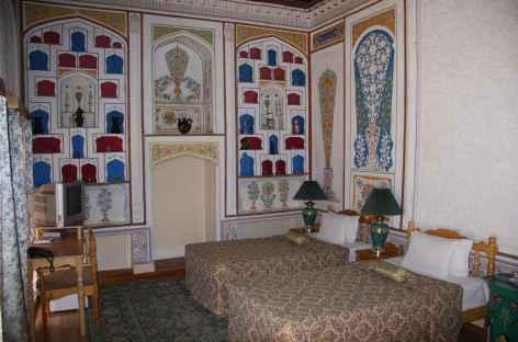 Exemple de chambre à Boukhara - Ouzbekistan -