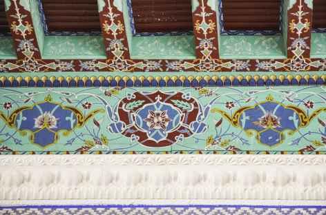 Détails à la mosquée Norboutabey - Ouzbekistan -
