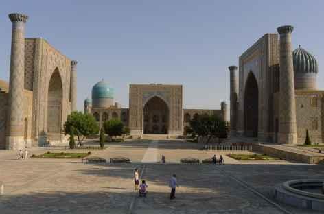 Place du Réghistan à Samarcande - Ouzbékistan -