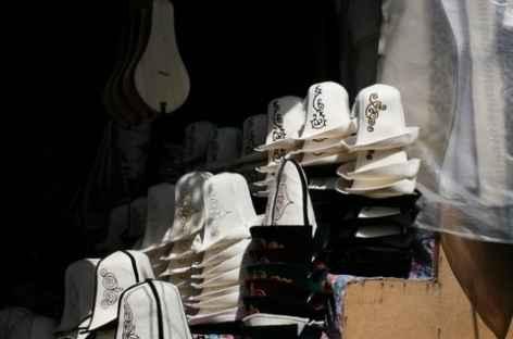 Magasin de chapeaux locaux - Osh - Kirghizie -