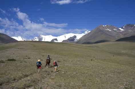Ambiance de trek - Kirghizie -