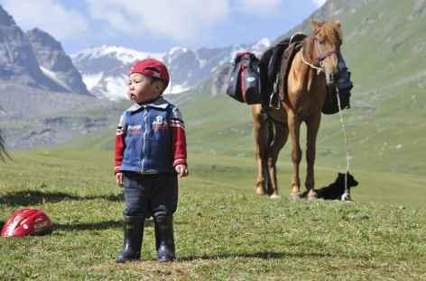Jeune nomade - Kirghizie -