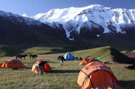 Camp de Tash Koungeï  - Kirghizie -