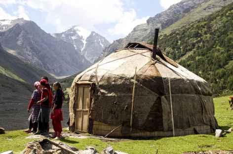 Nomades, vallée de Kochmoinok - Kirghizie -