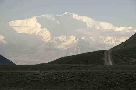 Le Lénine au petit matin - Kirghizie -