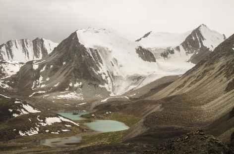 Vue du col Sary Mogol - Kirghizie -