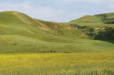 En Partant de Osh - Kirghizie -