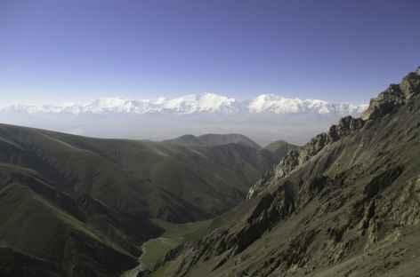 Montée au col Chorkou à 3970 m - Kirghizie -