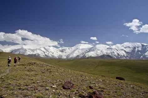 Descente vers Kachkasou - Kirghizie -