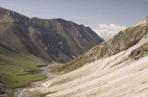 Haute vallée de Sary Mogol - Kirghizie -