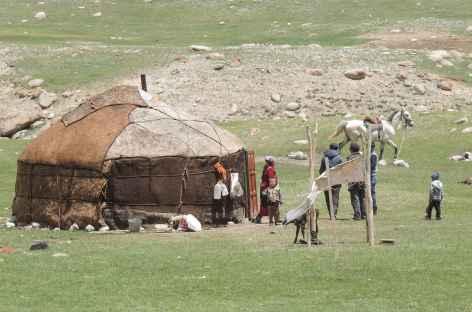Rencontre avec les Nomades - Kirghizie -