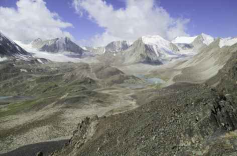 Depuis le col Sary Mogol - Kirghizie -