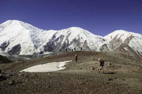 Montée vers Kamansou - Kirghizie -