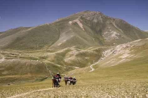 Traversée vers Karakabak - Kirghizie -