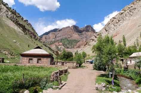 Départ du Trek - Kirghizie -