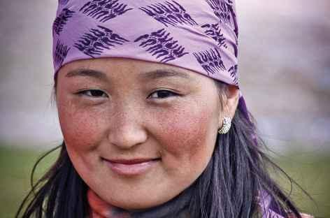 Jeune nomade du Pamir - Kirghizie -