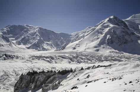 A l'approche du camp I - Kirghizie -