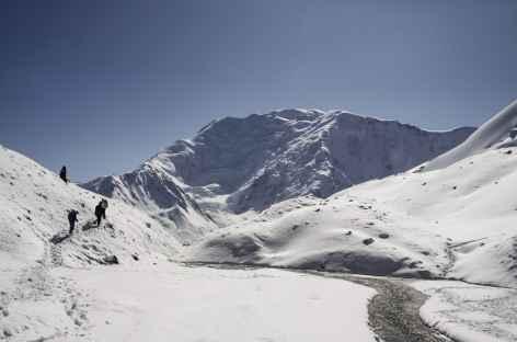 En descendant du Camp I - Kirghizie -